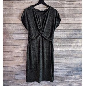 Jessica Simpson Maternity Twist Front Casual Dress